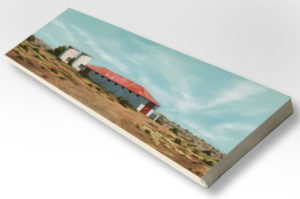 The Studio Art Gallery - Karoo Barn (838) by Donna McKellar - Stretched Canvas