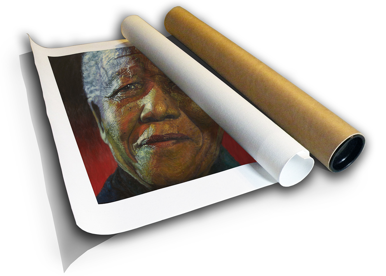 The Studio Art Gallery - Amandla Madiba by Therese Mullins -Canvas Print in Tube