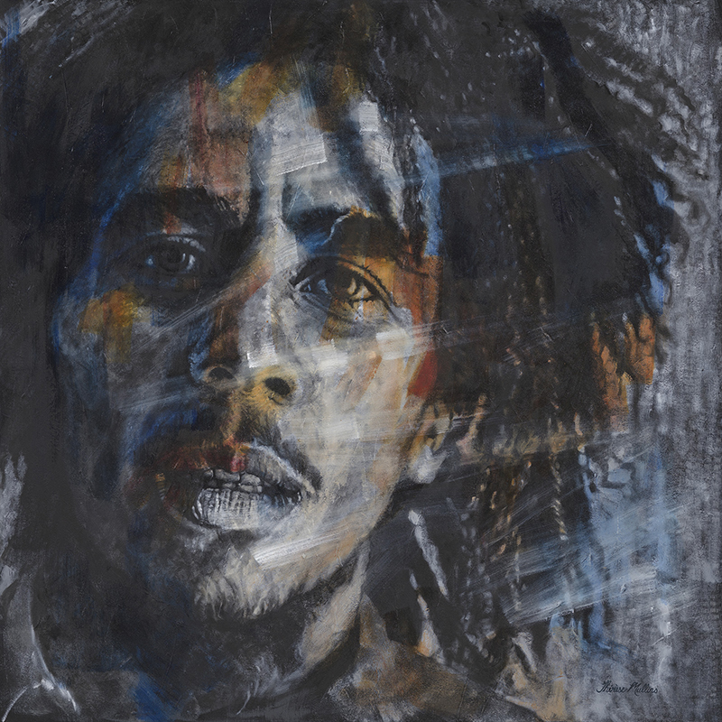 The Studio Art Gallery - Bob Marley by Therese Mullins