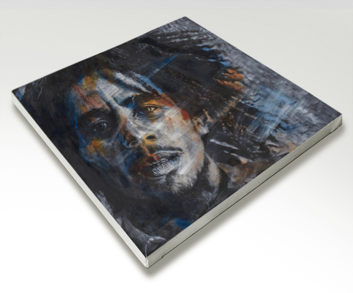 The Studio Art Gallery - Bob Marley by Therese Mullins - Stretched Canvas