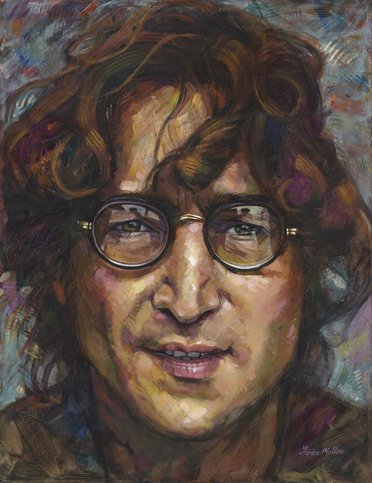 The Studio Art Gallery - John Lennon by Therese Mullins