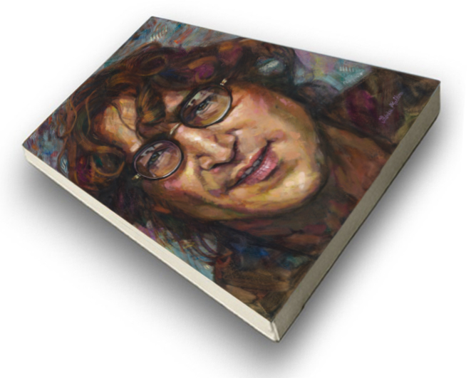 The Studio Art Gallery - John Lennon by Therese Mullins - Stretched Canvas
