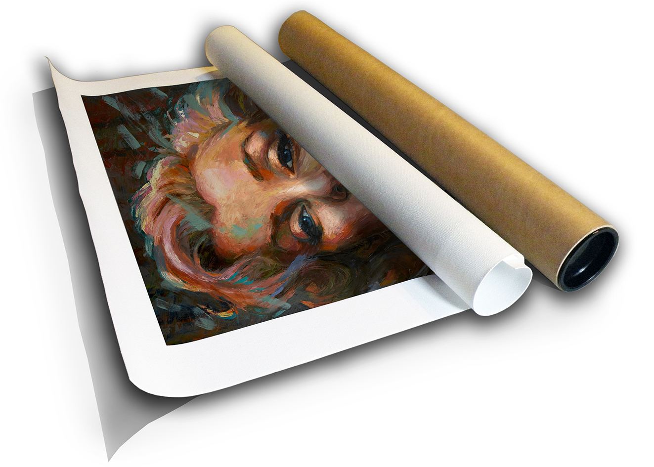 The Studio Art Gallery - Marilyn Monroe by Therese Mullins - Canvas Print in Tube