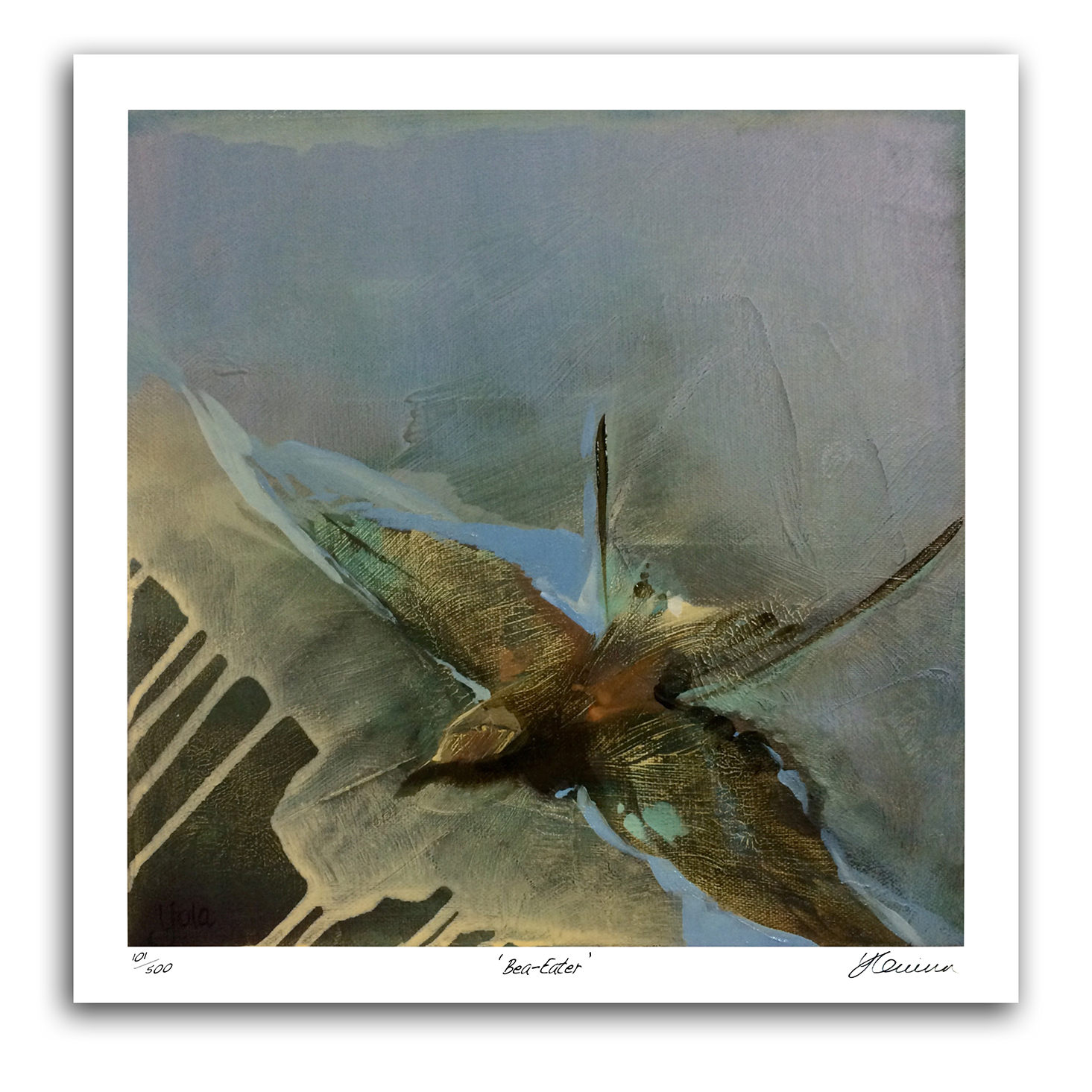 The Studio Art Gallery - Bee Eater by Yola Quinn - Archival Print on Paper