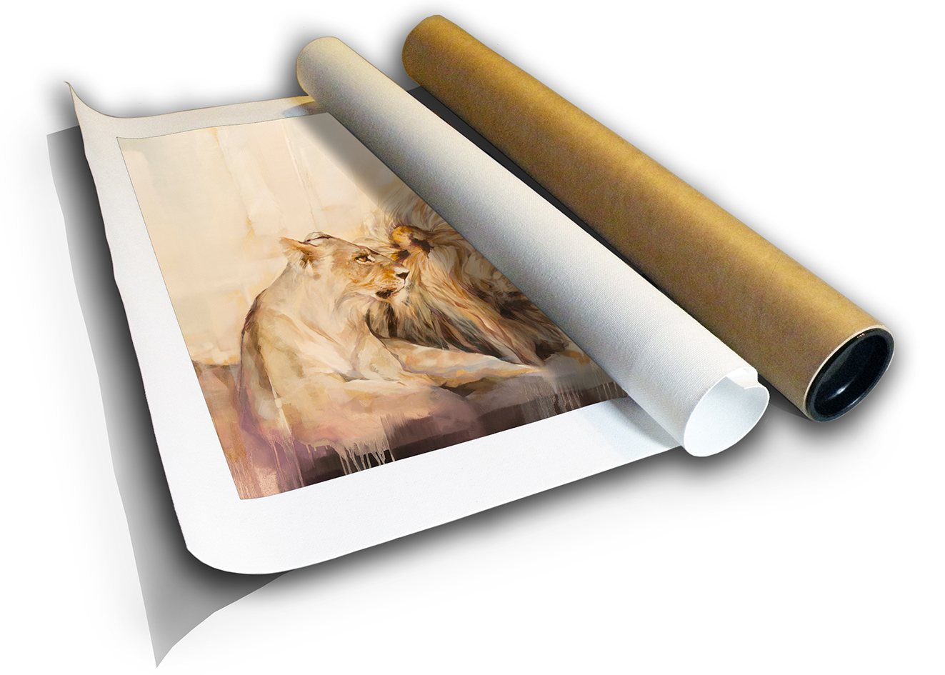 The Studio Art Gallery - Sovereignty by Yola Quinn - Canvas Print in a Tube